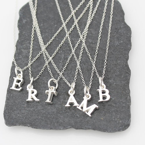 LUCY KEMP Initials Necklace
