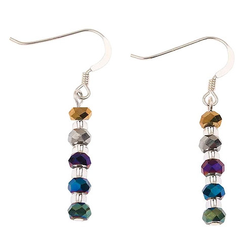 CARRIE ELSPETH Faceted Metallics Earrings