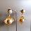 Thumbnail: MY DORIS Pearl Sunburst Earrings