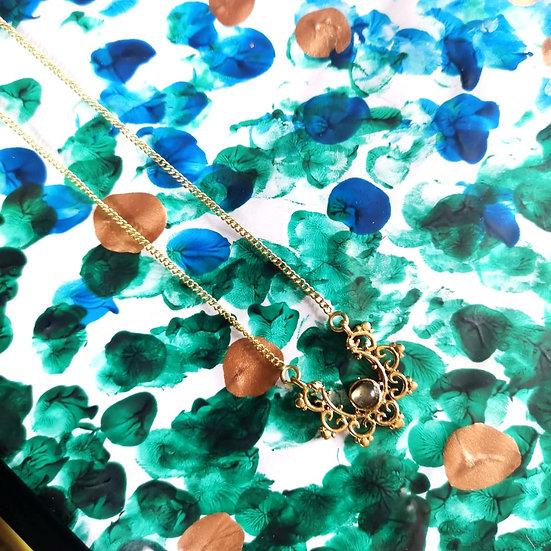 MY DORIS Labradorite Mandala Necklace