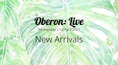 Oberon: Live - New Arrivals