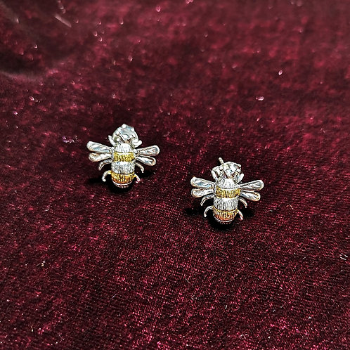 JULIE MARTEK Bee Stud Earrings