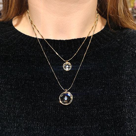 UNO DE 50 Double Trouble Necklace