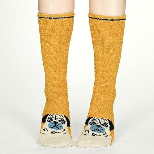 THOUGHT Fluffy Long Socks