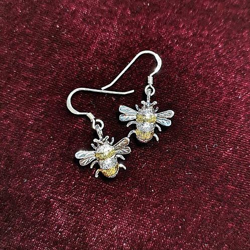 JULIE MARTEK Bee Drop Earrings