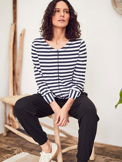 THOUGHT Kaylee Striped Top