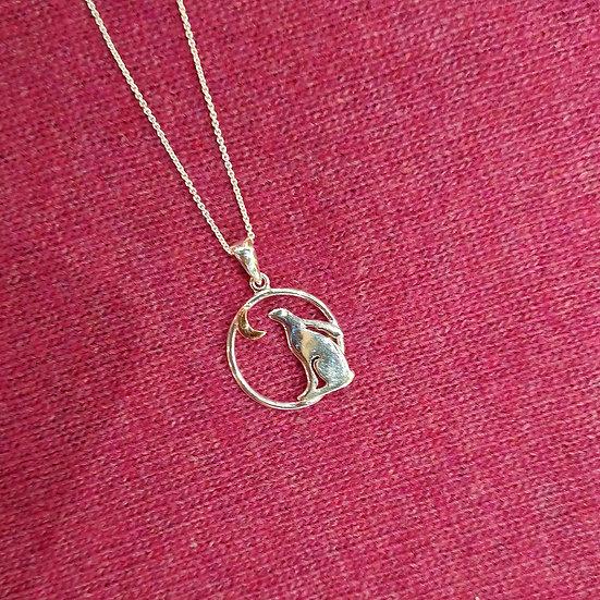 SEA GEMS Moon Gazing Necklace