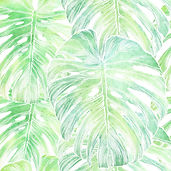 vector-philodendron-leaf-seamless-patter