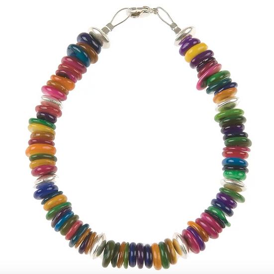 CARRIE ELSPETH Rainbow Shell Bracelet