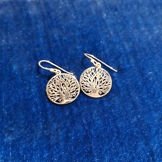 SIREN Tree of Life Drop Earrings