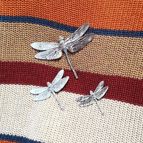 LADYCROW Dragonfly Brooch