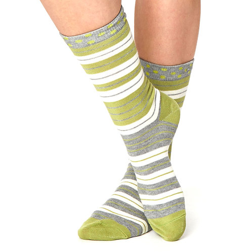 THOUGHT Striped Bamboo Socks