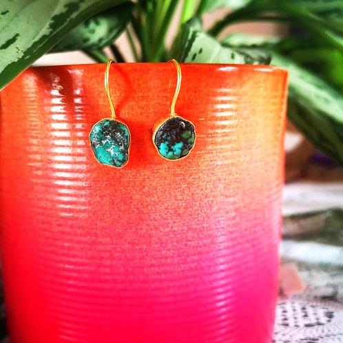 MY DORIS Tibetan Turquoise Earrings