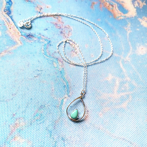 SIREN Turquoise Pear Drop Necklace