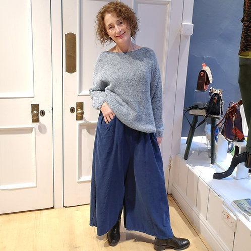 LOTTIE AND MOLL Culotte Cord Trousers