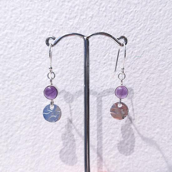 SIREN Gemstone Duo Drop Earrings