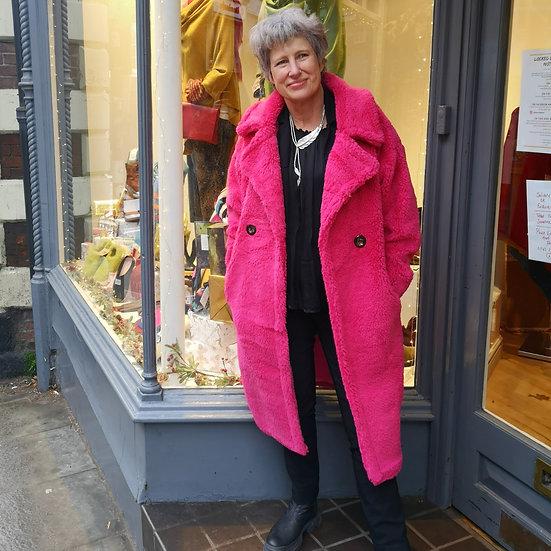 JAYLEY Teddy Bear Coat