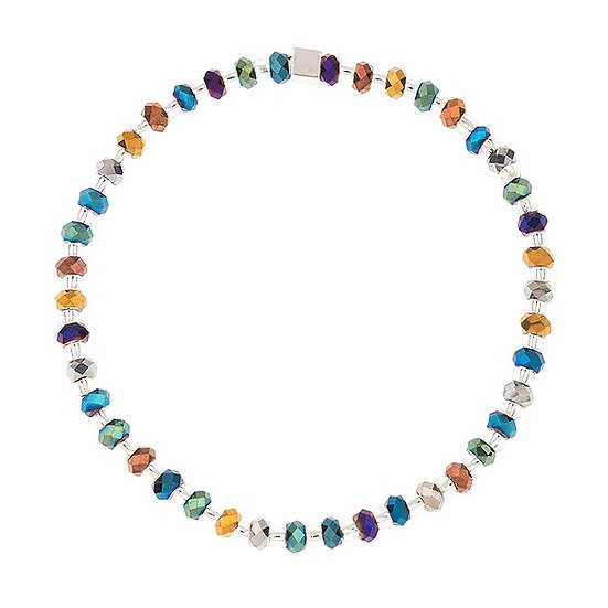 CARRIE ELSPETH Faceted Metallics Bracelet