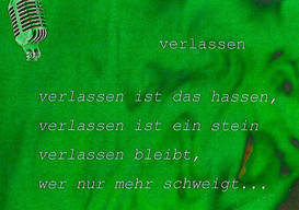 Die Gedichte (Auszug 1997 - 1998)