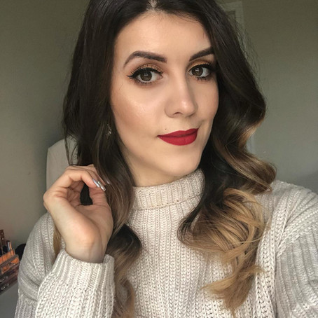 Gold Glam Makeup for the Holidays/Christmas