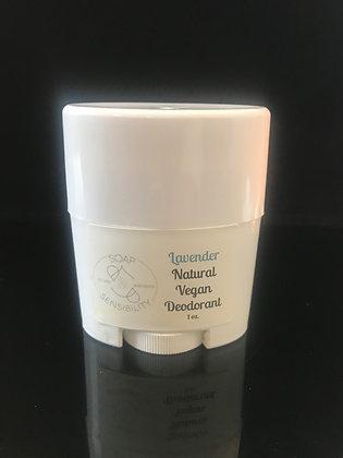 Lavender Natural Vegan Deodorant