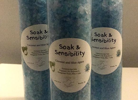 Coconut & Blue Agave Bath Salts