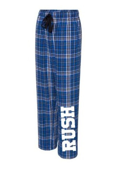 Blue Flannel Pajama Pants
