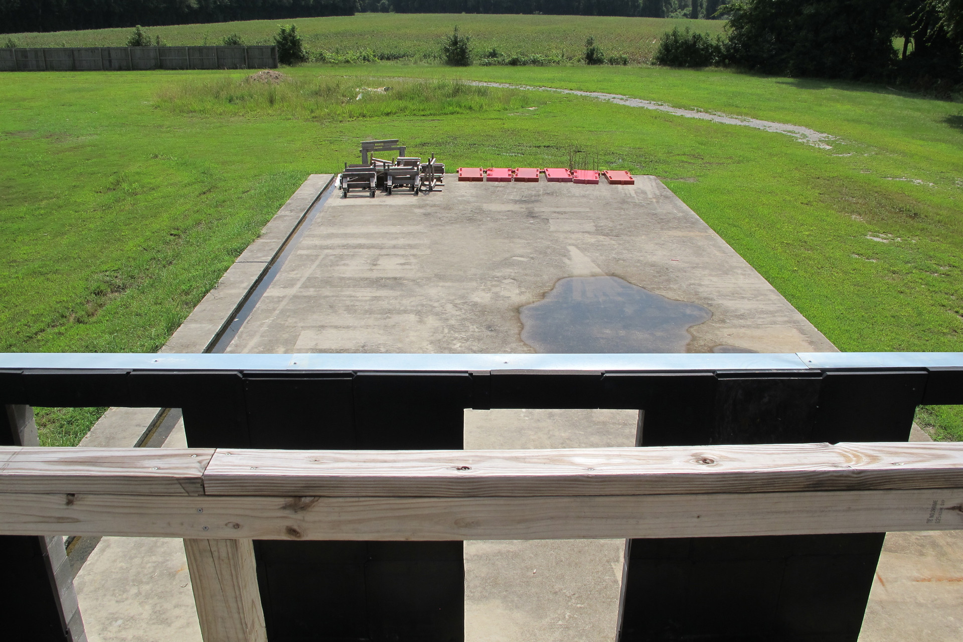 Exterior Staging Pad