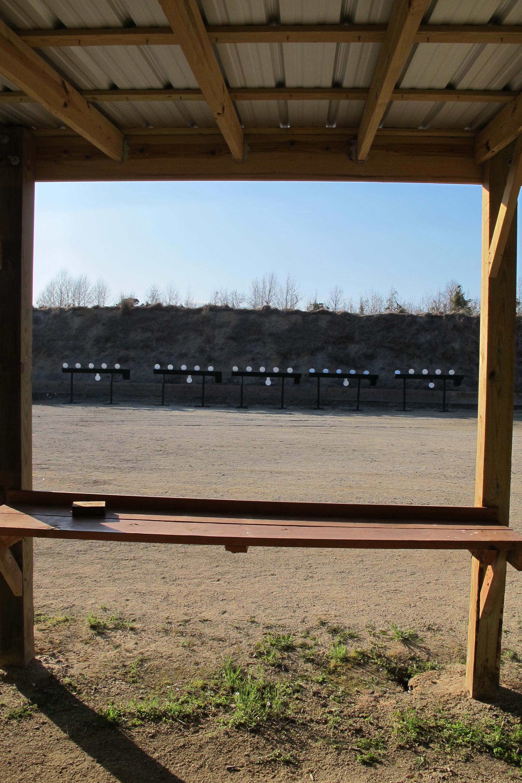 Pistol Range Bench