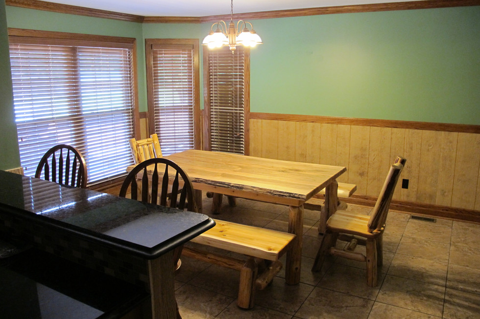 Large Amish Dining Table
