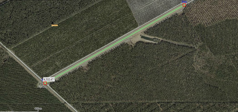 Runway Near SRTTC