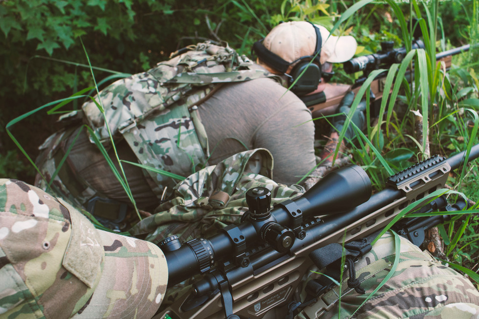 SRTTC Snipers Train from rough terrain