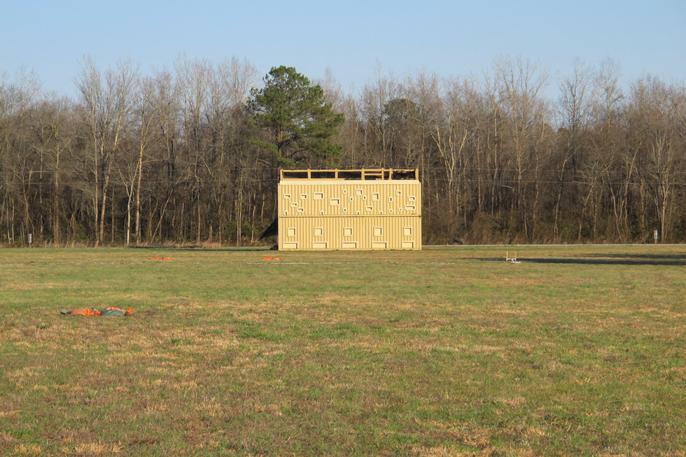 SRTTC Sniper Tower from 200 yards out