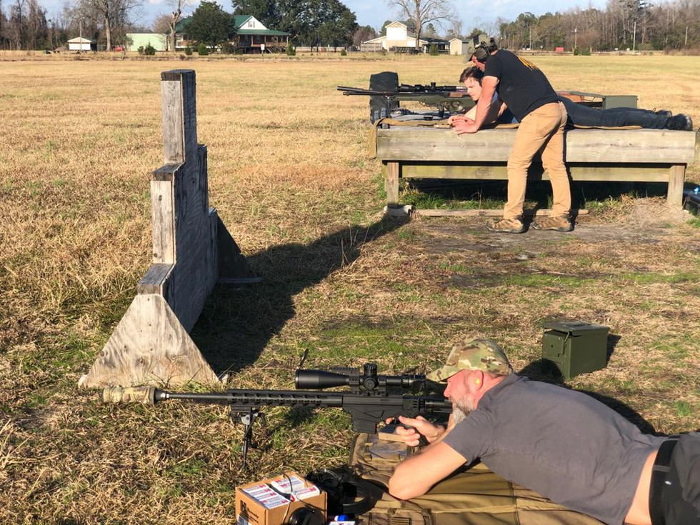 Instructors with new shooters