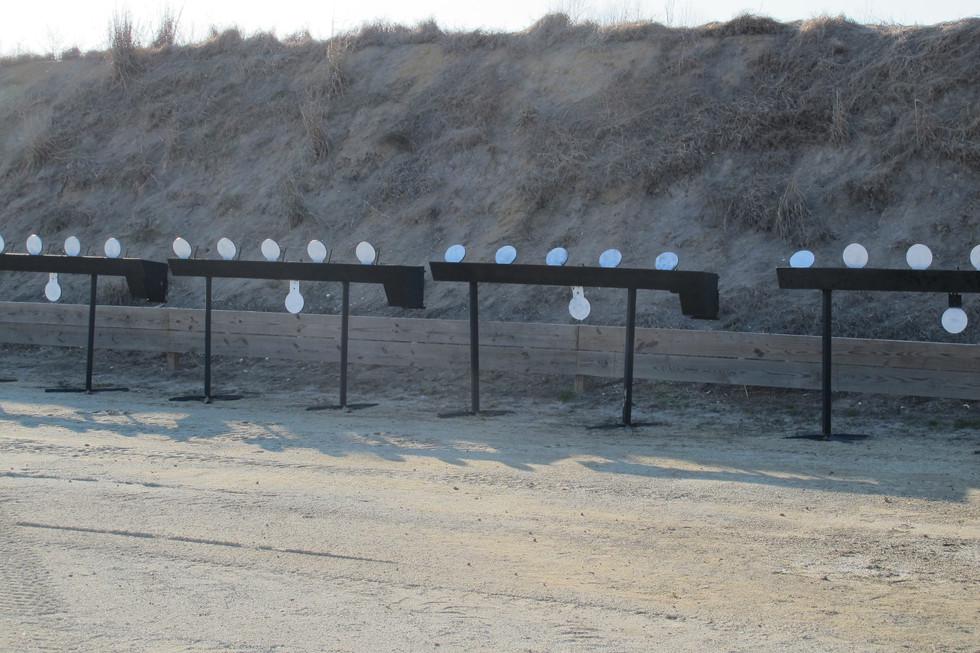 Mechanized Steel Targets