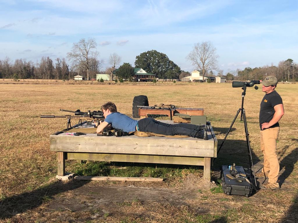 New Shooter on 1100 range