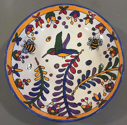 Hummingbird & Bees Fruit Bowl