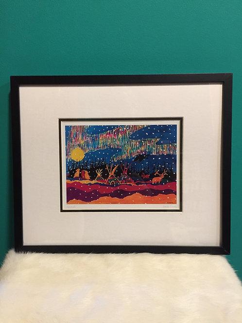 Denendeh framed card