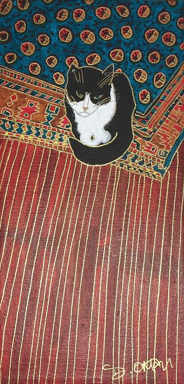 Portrait of a Grumpy Cat