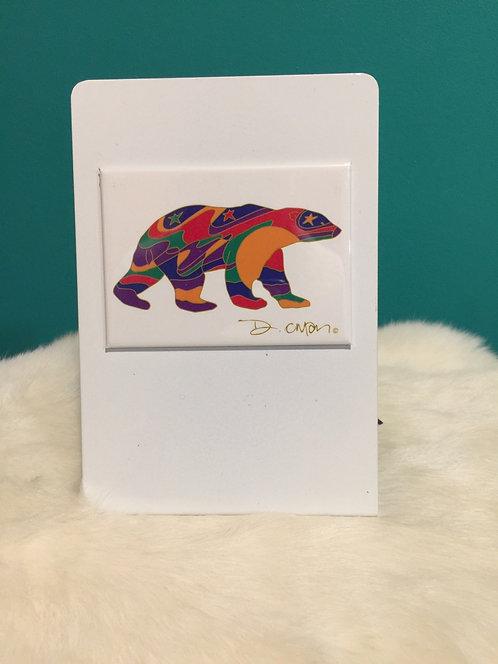 Alpha Bear Magnet