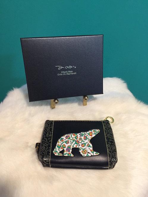 Spring Bear coin purse
