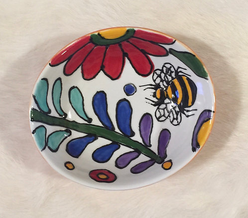 Ceramic condiment bowl