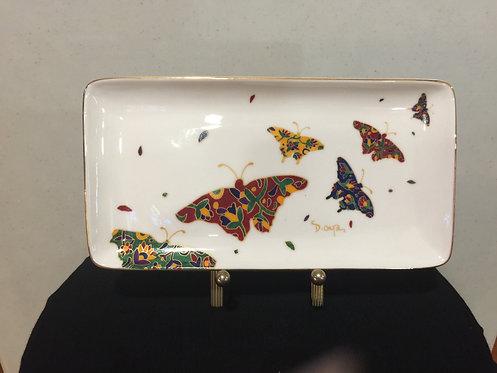 Butterflies Rectangular Platter