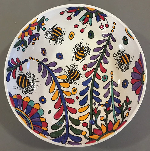 5 Bees & Lupins Fruit bowl