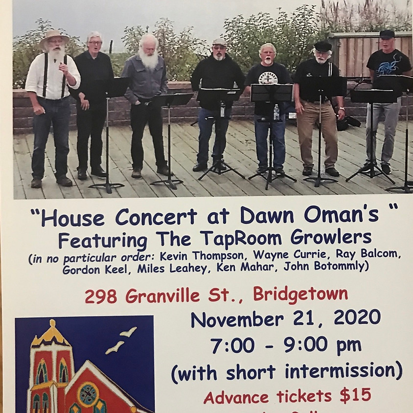 House Concert with The Tap Room Growlers