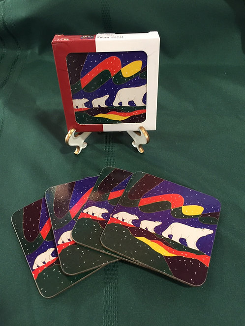 Three Bears Coasters