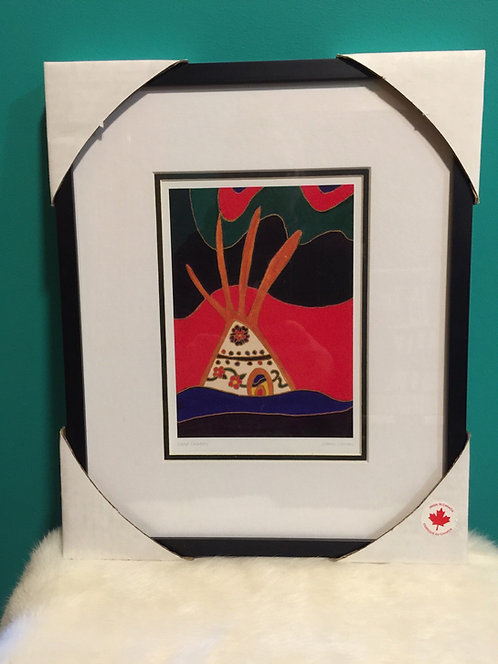 Dene Dreams framed card