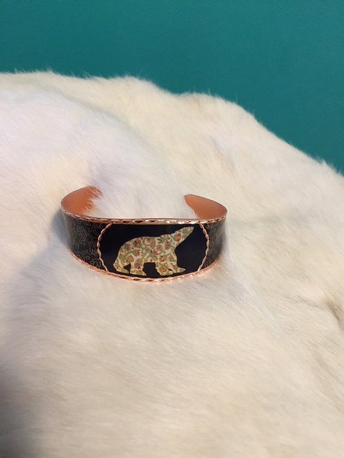 Spring Bear copper bracelet