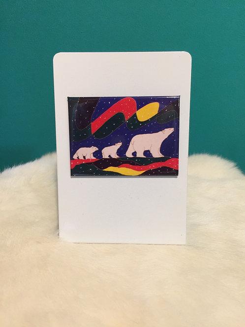 Three Bears Magnet