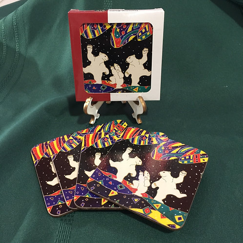 Dancing Bears Coasters